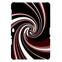 Decorative twist Samsung Galaxy Tab 10.1  P7500 Hardshell Case