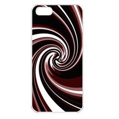 Decorative twist Apple iPhone 5 Seamless Case (White)