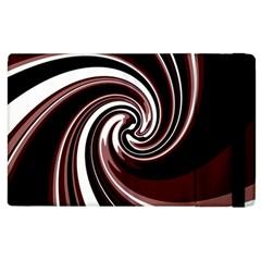 Decorative twist Apple iPad 2 Flip Case