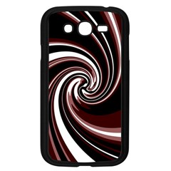 Decorative twist Samsung Galaxy Grand DUOS I9082 Case (Black)