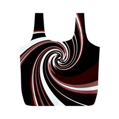 Decorative twist Full Print Recycle Bags (M)