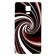 Decorative twist Galaxy Note 4 Back Case