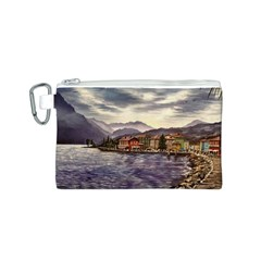 Italian Lake Garda Canvas Cosmetic Bag (s)