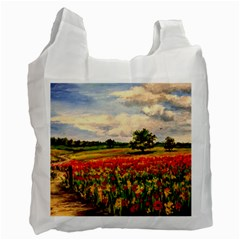 Poppies Recycle Bag (two Side)