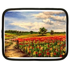 Poppies Netbook Case (xxl)