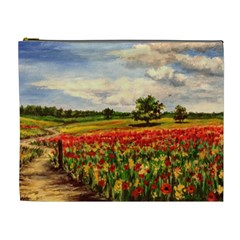 Poppies Cosmetic Bag (xl)