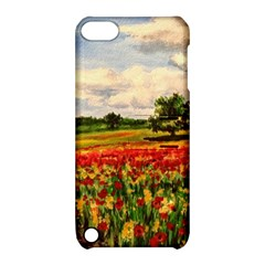 Poppies Apple Ipod Touch 5 Hardshell Case With Stand