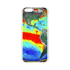 Earth Apple Seamless iPhone 6/6S Case (Transparent)
