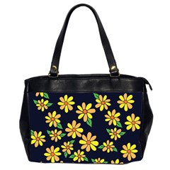 Daisy Flower Pattern For Summer Office Handbags (2 Sides)