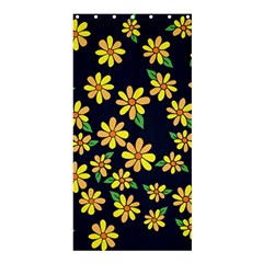 Daisy Flower Pattern For Summer Shower Curtain 36  x 72  (Stall)