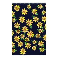 Daisy Flower Pattern For Summer Shower Curtain 48  X 72  (small)