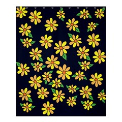 Daisy Flower Pattern For Summer Shower Curtain 60  X 72  (medium)