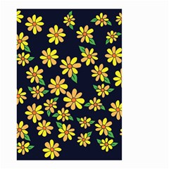 Daisy Flower Pattern For Summer Small Garden Flag (two Sides)