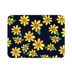 Daisy Flower Pattern For Summer Double Sided Flano Blanket (Mini)