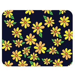 Daisy Flower Pattern For Summer Double Sided Flano Blanket (Medium)