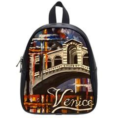 Venice Rialto Bridge School Bags (small)
