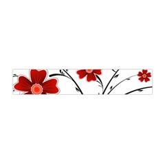 Flower Vector Art Flano Scarf (Mini)