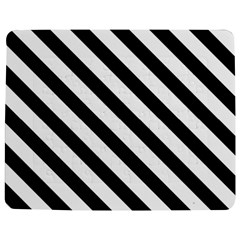 Black And White Geometric Line Pattern Jigsaw Puzzle Photo Stand (Rectangular)