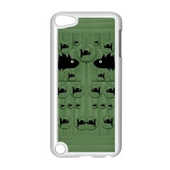 Pescado Fish Con Pasta And Baby Fishes Apple Ipod Touch 5 Case (white)