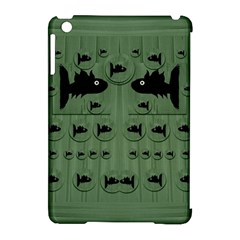 Pescado Fish Con Pasta And Baby Fishes Apple Ipad Mini Hardshell Case (compatible With Smart Cover)
