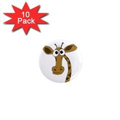 Giraffe  1  Mini Magnet (10 pack)