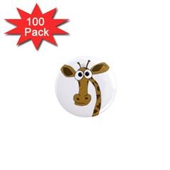 Giraffe  1  Mini Magnets (100 pack)