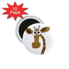 Giraffe  1.75  Magnets (10 pack)