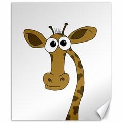 Giraffe  Canvas 8  x 10