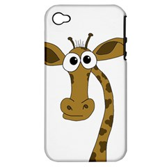 Giraffe  Apple iPhone 4/4S Hardshell Case (PC+Silicone)