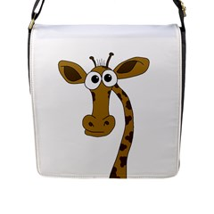 Giraffe  Flap Messenger Bag (L)