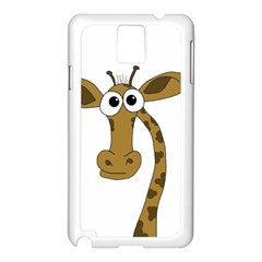 Giraffe  Samsung Galaxy Note 3 N9005 Case (White)