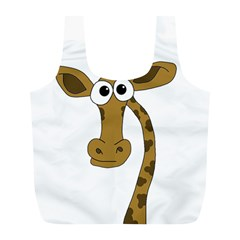 Giraffe  Full Print Recycle Bags (L)
