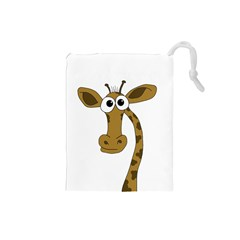 Giraffe  Drawstring Pouches (Small)