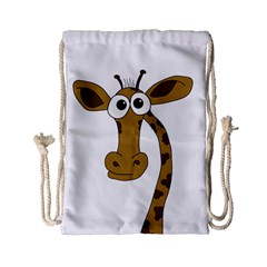 Giraffe  Drawstring Bag (Small)