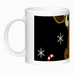 Christmas giraffe Night Luminous Mugs