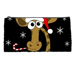 Christmas giraffe Pencil Cases