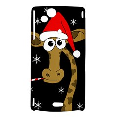Christmas giraffe Sony Xperia Arc