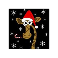 Christmas giraffe Acrylic Tangram Puzzle (4  x 4 )