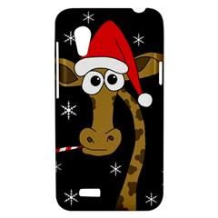 Christmas giraffe HTC Desire VT (T328T) Hardshell Case