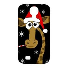 Christmas giraffe Samsung Galaxy S4 Classic Hardshell Case (PC+Silicone)