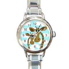 Just the two of us Round Italian Charm Watch