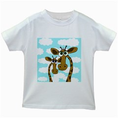 Just the two of us Kids White T-Shirts