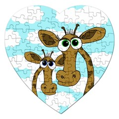Just the two of us Jigsaw Puzzle (Heart)