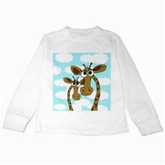 Just the two of us Kids Long Sleeve T-Shirts