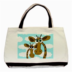 Just the two of us Basic Tote Bag (Two Sides)