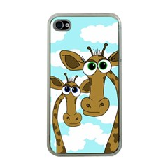 Just the two of us Apple iPhone 4 Case (Clear)