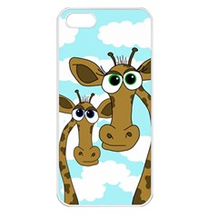 Just the two of us Apple iPhone 5 Seamless Case (White)