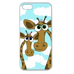 Just the two of us Apple Seamless iPhone 5 Case (Clear)
