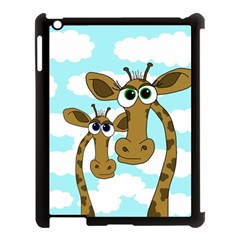 Just the two of us Apple iPad 3/4 Case (Black)