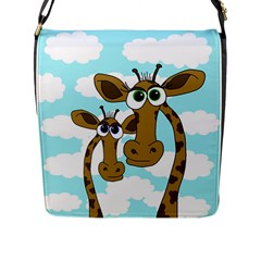 Just the two of us Flap Messenger Bag (L)